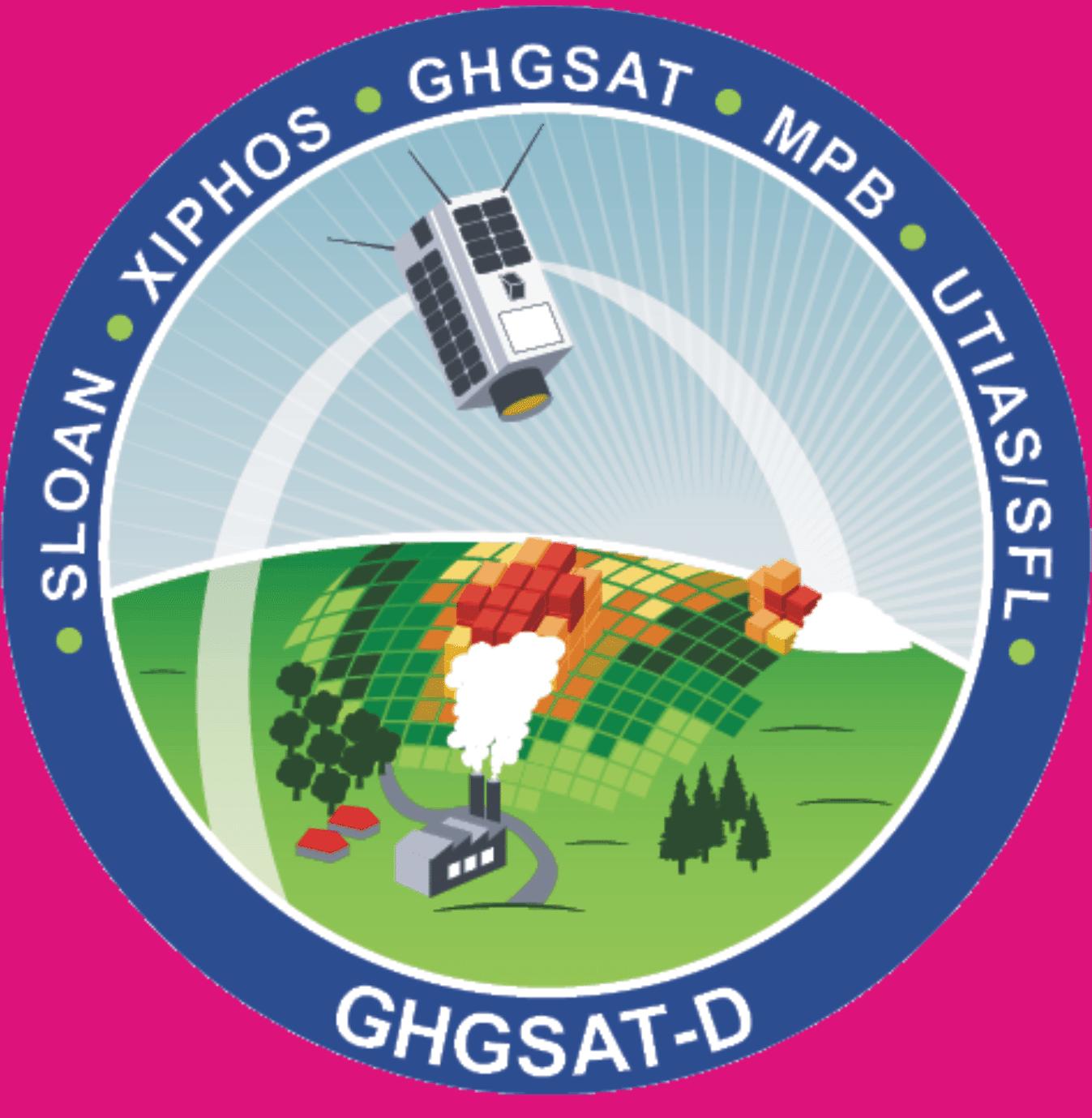 GHGSat-D Mission Patch