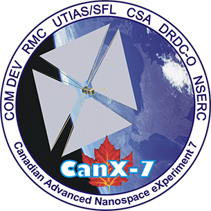 CanX7 mission patch
