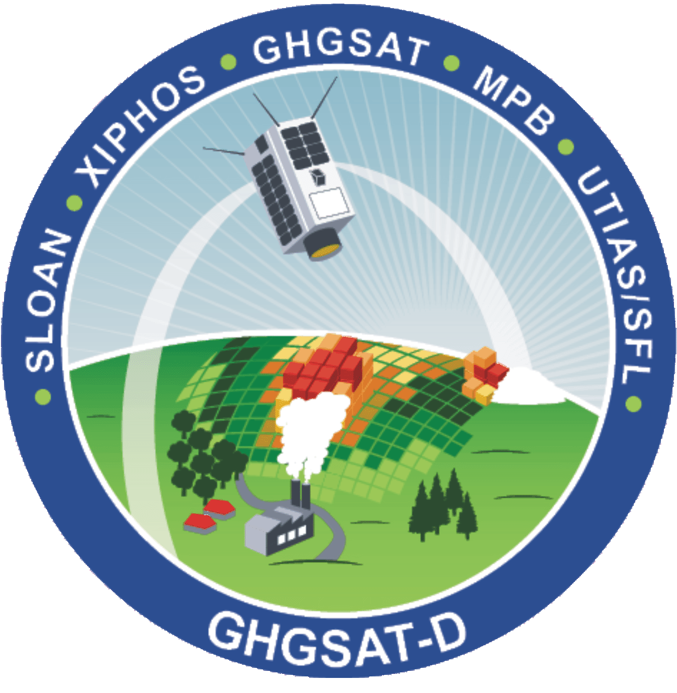 GHGSat-D Mission Patch