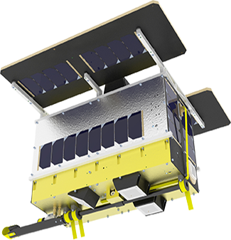 NORSAT-2 stowed