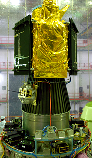 NLS-4 and NLS-5 spacecraft mounted on the PLSV-C9