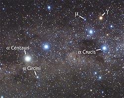 crux centauri